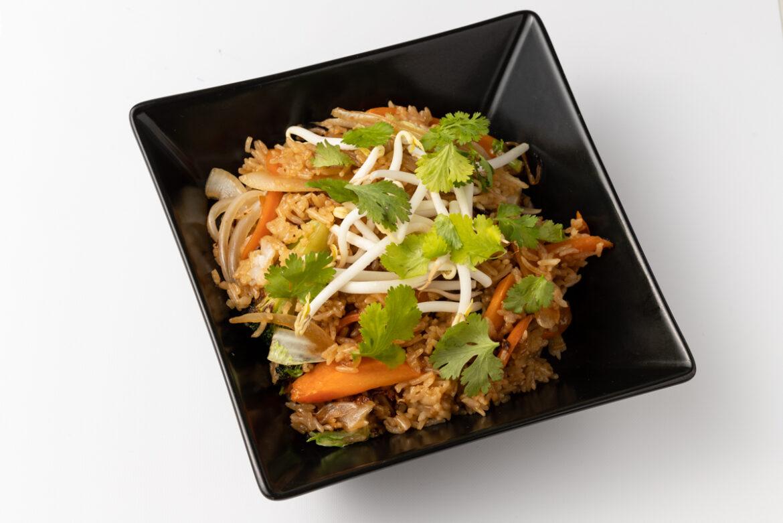 Pirított rizs – csirkehússal