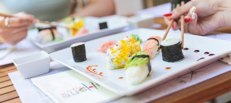 4️ ok, amiért a sushi könnyedén beilleszthető egy egészséges étrendbe