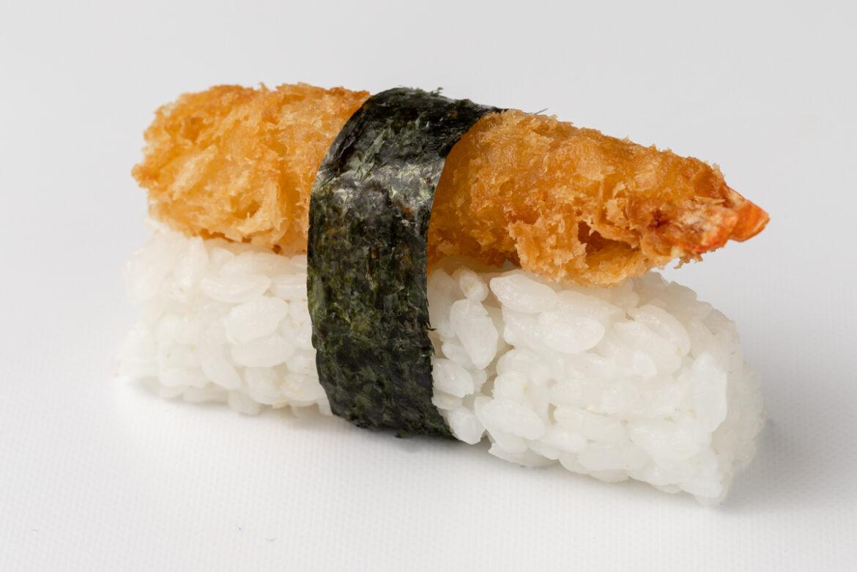Ropogós japán morzsában sült garnéla