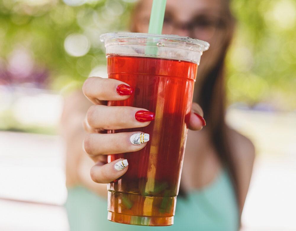 Bubble tea - citrom, 3dl