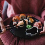 sushi ajándék ötlet